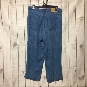 Ralph Lauren Jeans Co Linen Capri Crop Pants 12